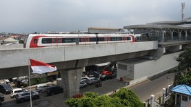 LRT Jabodebek Pecahkan Dua Rekor Dunia
