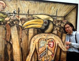 Lukisan-Lukisan Terbaik Asal Indonesia Dipamerkan Di Jepang