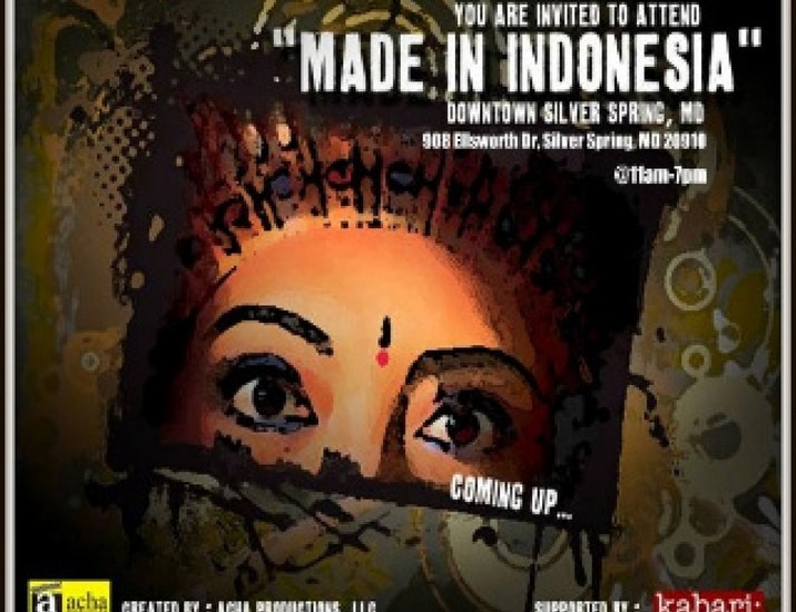 Made in Indonesia Presented to the World