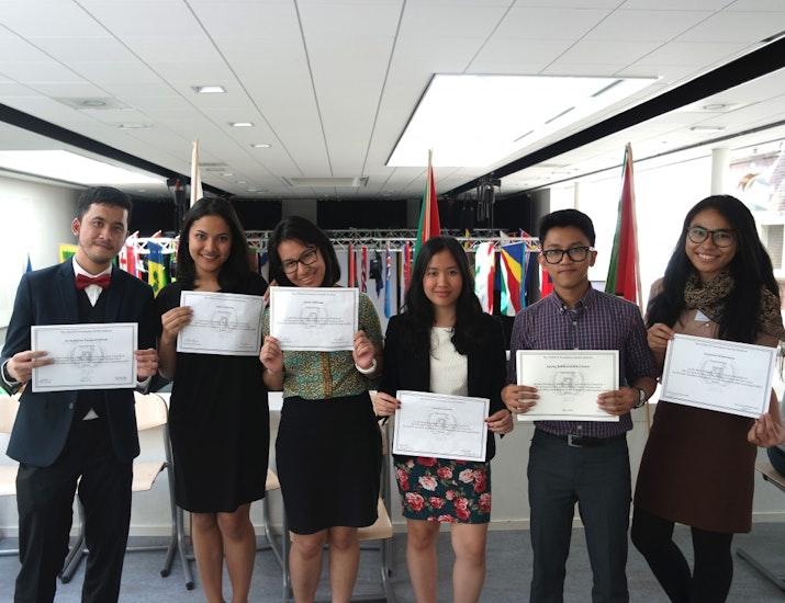Mahasiswa Indonesia Menangkan Simulasi PBB di Tanah Eropa