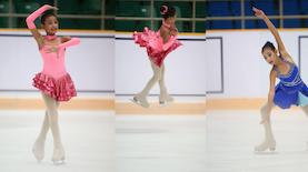 Malika Akbar: Bawa Jaipong Lewat Ice Skating