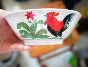 Mangkuk Ayam Fenomenal Ini Ternyata Punya Filosofi