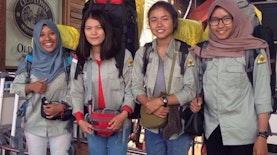 Empat Kartini Mapala UGM Bertolak ke India Taklukkan Himalaya