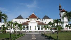 Masjid Agung Palembang Resmi Berganti Nama