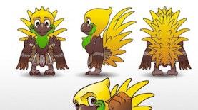 Desain Alternatif Ciamik Karya Anak Bangsa Untuk Maskot Asian Games