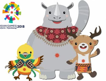 Mengenal Satwa Maskot Asian Games 2018