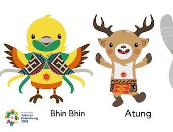 Tiga Maskot Asian Games 2018, Bukti Keanekaragaman Hayati Indonesia!