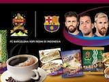 Kopi Indonesia Jadi Sponsor FC Barcelona