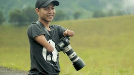 Fotografer Difabel Asal Indonesia Menginspirasi Dunia