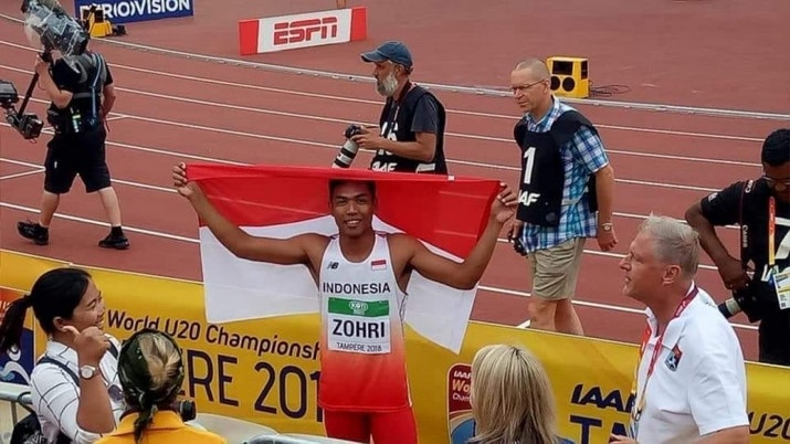Sprinter Indonesia Menangi Kejuaraan Atletik Dunia