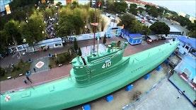 Surabaya Punya Satu-satunya Monumen Kapal Selam di Asia Tenggara