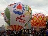Tidak Perlu Pergi Jauh ke Cappadocia untuk Saksikan Festival Balon Udara, Cukup Kesini