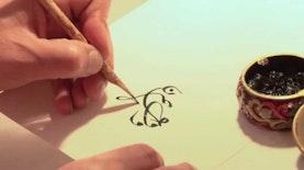 Diam-Diam Kaligrafer ini Juara Asia Tenggara Hingga Jadi Guru Kaligrafi Internasional