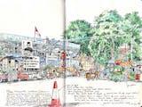 Gambar sampul Corat-Coret Indonesia dalam Kertas Sketsa