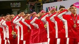 SEA Games 2017: Kalahkan Tuan Rumah, Indonesia Maju Sebagai Juara Bulutangkis Beregu Putra