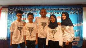 Indonesia Borong Medali Di Kompetisi Daya Ingat di Filipina