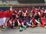 Indonesia Raya Berkumandang di Ajang Gothia Cup 2016