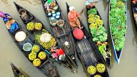 Mengapa Ada Pasar Apung di Banjarmasin?