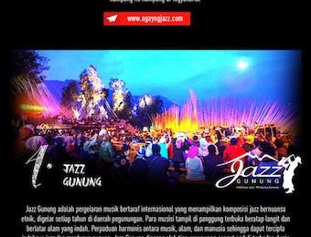 Menggaungkan Indonesia Lewat Pagelaran Jazz