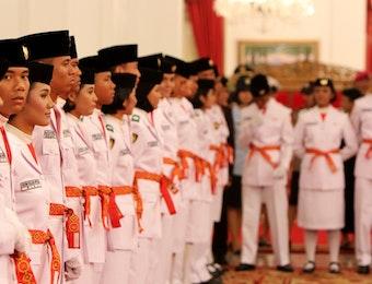 Menilik Sejarah Pasukan Pengibar Bendera Pusaka Indonesia