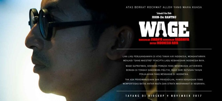 Mensyukuri Jasa Pahlawan, Wage Soepratman Difilmkan