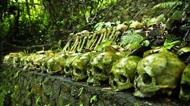 Menyeramkan, Di Desa Ini Mayat-mayat Tidak Pernah Dikuburkan