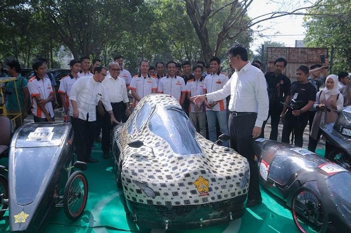Kampus Unsyiah Aceh Luncurkan Mobil Listrik Untuk Kompetisi di Singapura