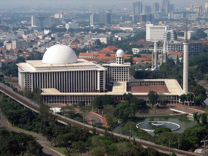 Masjid Istiqlal Akan Miliki Fasilitas Limbah Air