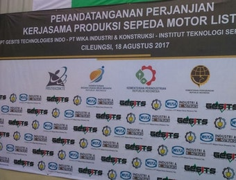 Perjanjian Kerjasama Produksi GESITS Mengukuhkan Kemajuan Teknologi Transportasi Indonesia