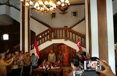 Singapore, Indonesia to Set up Business Council to Enhance Networking, Sign Four MOUs