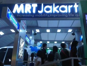 [Foto] Intip Interior Kereta MRT Jakarta