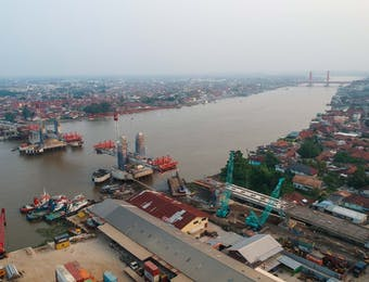 Jembatan Anti Gempa di Palembang Akan Diresmikan
