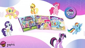 Buku My Little Pony dengan Cita Rasa Indonesia