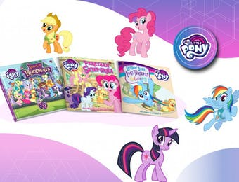 Buku My Little Pony dengan Cita Rasa Indonesia