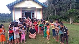 Raynaldo Ginting: Penggiat Rumah Baca di Pelosok Kalbar
