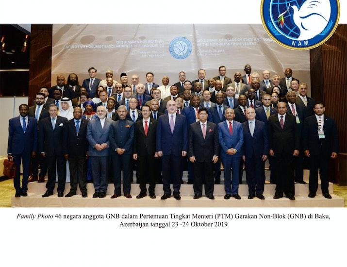 Indonesia Serukan Negara GNB Tegakkan Prinsip Multilateralisme
