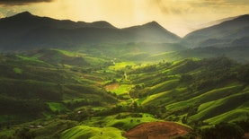 Di Sulawesi Tengah Terdapat Awan Hijau, Seperti Apa?