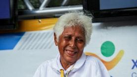 Nenek Juara Dunia yang Tiada Henti Mengharumkan Nama Indonesia