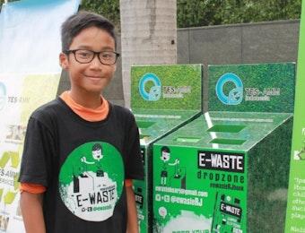 Rafa Jafar, Aktivis Muda Pembasmi Sampah Eletronik