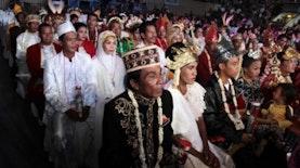 Peningkatan Jumlah Peserta Nikah Massal di Jakarta
