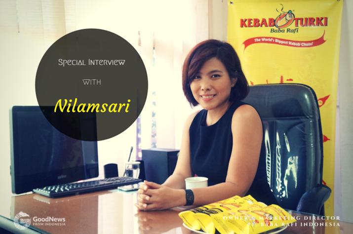 Dari Surabaya, Nilamsari Bawa Kebab Mendunia