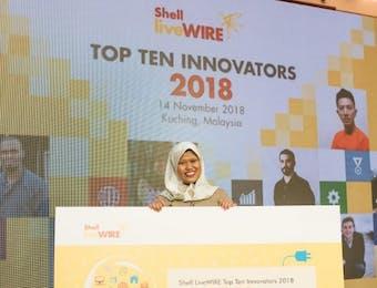 Teknologi Pengelolaan Sampah Buatan Gadis Desa Ini Menangkan Kompetensi Internasional