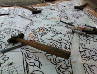 Geliat Pengrajin Tembaga dan Kuningan dari Pinggiran Yogyakarta