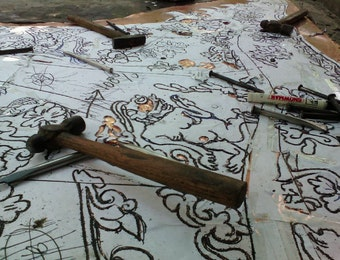 Sang Perajin, Pengabdi Seni Kriya Logam dari Yogyakarta