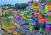 Tak perlu ke Luar Negeri, Di Indonesia pun Ada Kampung Warna – Warni