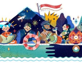 Indonesia, Cermin Negara Damai Bagi Negara Konflik