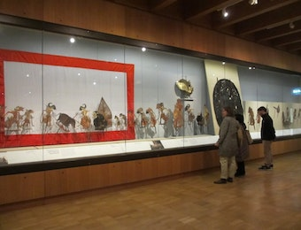 Exhibition of Shadow Puppets from Indonesia, Malaysia, and Thailand at the British Museum