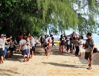 Wisata Pulau Seribu   Acara Outbound Training
