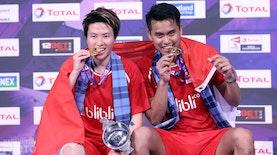 Kalahkan Peringkat Satu Dunia, Ganda Campuran Andalan Badminton Indonesia Raih Juara Di Glasgow