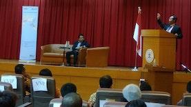 Prof. Dr. Mahfud M. D. Bicara Kebangsaan untuk Generasi Milenial Indonesia di Taiwan